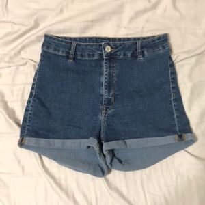 High Waisted Short Shorts from H&M
